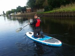 River Trent paddle board spot in United Kingdom