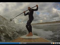 Maasvlakte P3 paddle board spot in Netherlands