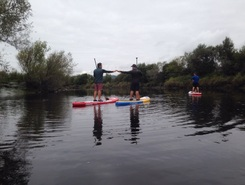 Dobbies forth river paddle board spot in United Kingdom