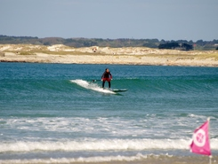 Pors Carn paddle board spot in France