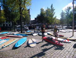 Amsterdam Canals  paddle board spot in Netherlands