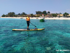 Gili Meno paddle board spot in Indonesia