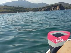 collioure sitio de stand up paddle / paddle surf en Francia