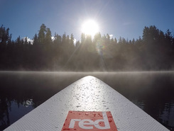 Lake Quinault paddle board spot in United States