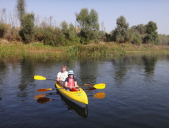 Seim river sitio de stand up paddle / paddle surf en Ucrania