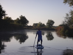 Oskil river sitio de stand up paddle / paddle surf en Ucrania