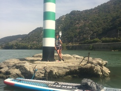 Rhône Trip paddle board spot in France