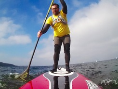 Langballigau sitio de stand up paddle / paddle surf en Alemania