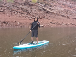 Horsetooth Reservoir sitio de stand up paddle / paddle surf en Estados Unidos