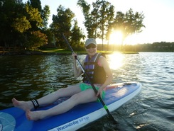 Waconda Bay SUP paddle board spot in United States