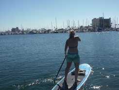 MCRD Libery Station Inlet sitio de stand up paddle / paddle surf en Estados Unidos