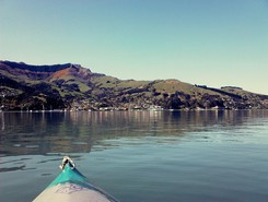 Akaroa Harbour & Bays sitio de stand up paddle / paddle surf en Nueva Zelanda