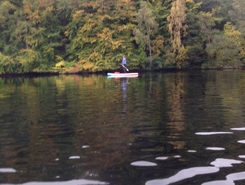 Loch Faskally sitio de stand up paddle / paddle surf en Reino Unido