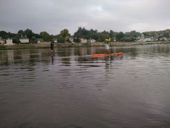 Loire Angers sitio de stand up paddle / paddle surf en Francia