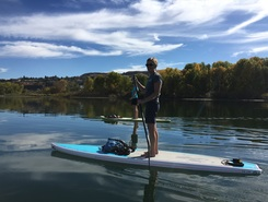 Riverfront Park paddle board spot in United States