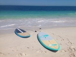 Jurien Bay sitio de stand up paddle / paddle surf en Australia
