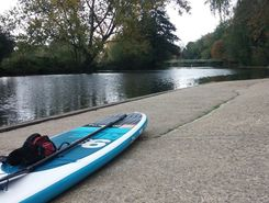 ttotoutourtour  paddle board spot in United Kingdom