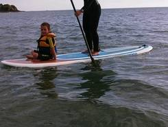 kerleven  spot de stand up paddle en France