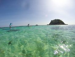 Koh Lipe, Sunset beach spot de stand up paddle en Thaïlande