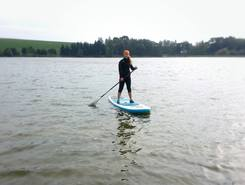 Krásné paddle board spot in Czech Republic
