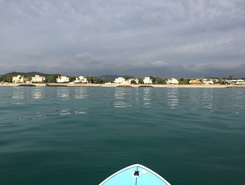 Terramar  paddle board spot in Spain