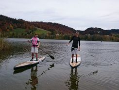Lac Brenet - Les Charbonnières paddle board spot in Switzerland