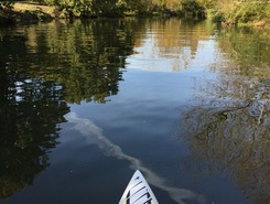 Iford paddle board spot in United Kingdom