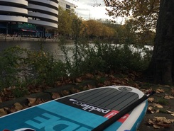 Waterkant Amsterdam spot de stand up paddle en Pays-Bas