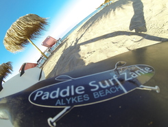 Paddle Surf Zante - Alykes Beach Zakynthos Island sitio de stand up paddle / paddle surf en Grecia