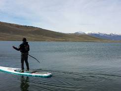 North Delaney Buttes Lake paddle board spot in United States