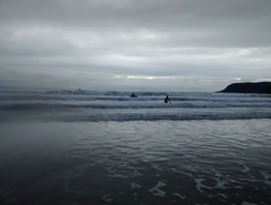 Caswell-bay paddle board spot in United Kingdom