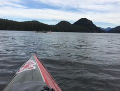 Grice to gunner inlet both shores paddle board spot in Canada