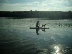 Lac de Bairon spot de stand up paddle en France