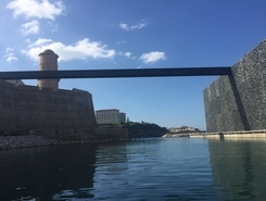 Marseille vieux port spot de stand up paddle en France
