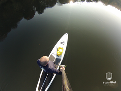 Weser from  Erder to Bad Oeynhausen paddle board spot in Germany