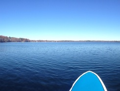 Massapoag Lake paddle board spot in United States