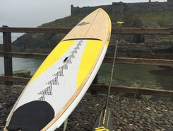 Fenella Beach, Peel paddle board spot in Isle of Man