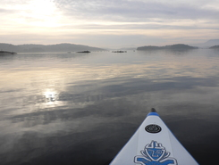 Fornebu, Oslofjord,   paddle board spot in Norway