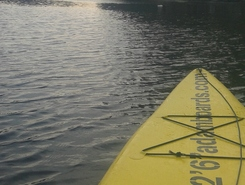 Amserdam west spot de stand up paddle en Pays-Bas