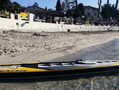 Juan-les-Pins sitio de stand up paddle / paddle surf en Francia