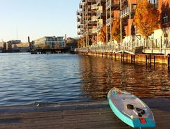 South Shore marina,Milwaukee paddle board spot in United States