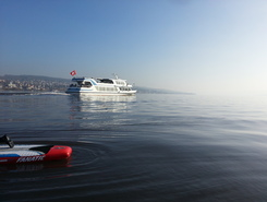 Parkplatz Mythenquai sitio de stand up paddle / paddle surf en Suiza