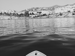 playa san Sébastien  paddle board spot in Spain