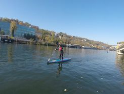 Boulogne Billancourt paddle board spot in France