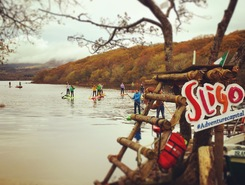 The Lake of Isle Innisfree paddle board spot in Ireland