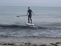 carnac plage paddle board spot in France