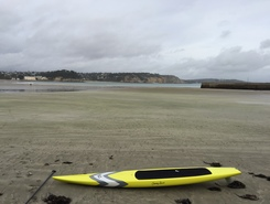 Morgat sitio de stand up paddle / paddle surf en Francia