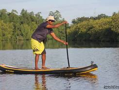 Madu Ganga backwaters sitio de stand up paddle / paddle surf en Sri Lanka