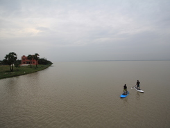 Mudaliarkuppam boat house sitio de stand up paddle / paddle surf en India