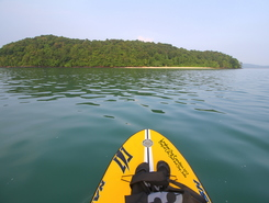 Langkawi archipelago  paddle board spot in Malaysia